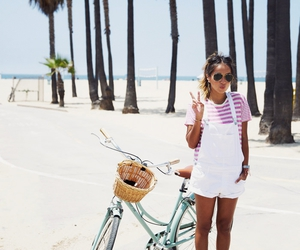 bike, style, and summer image