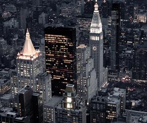 beauty, city, and sky image