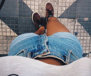 blue jeans, Greece, and greek image