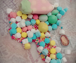 candy, fresa, and colors image