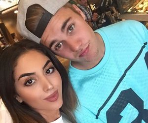 justin bieber and fan image