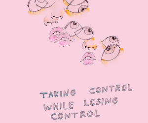 pink, aesthetic, and control image