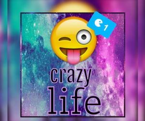 crazy and emoji image