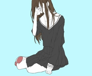 anime, art, and animegirl image