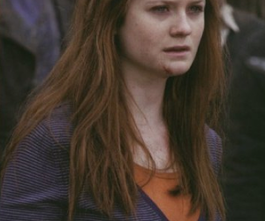 harry potter, ginny weasley, and bonnie wright image