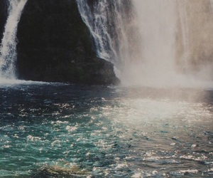 waterfall, water, and photography image