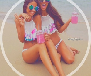 beach, Best, and friend image