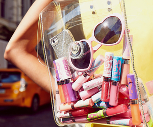 Maybelline, baby lips, and sunglasses image