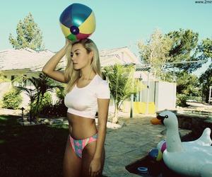 beach ball, california, and Beverly Hills image