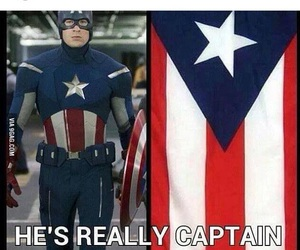 blue, captain america, and red image