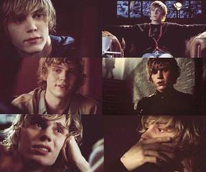 handsome, evan peters, and Hot image