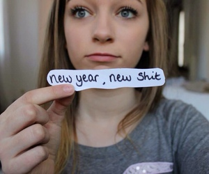 girl, new year, and tumblr image