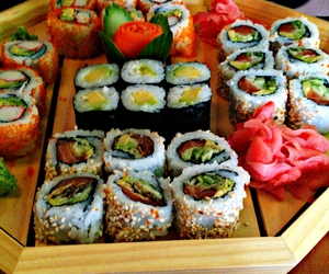 food and sushi image