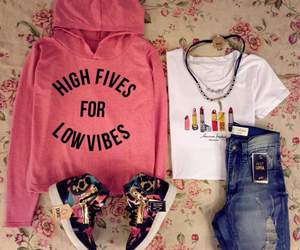 casual, fashion, and pink image