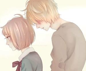 kawaii, manga girl, and doki doki image