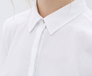 white, fashion, and shirt image
