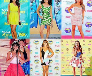 lea michele, tca, and through years image