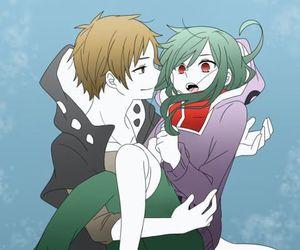 anime, kido tsubomi, and anime couple image