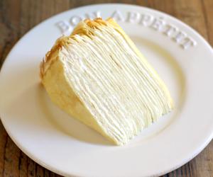 cake, crepe cake, and crepe image