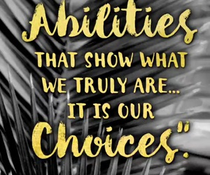 quote, harry potter, and choice image