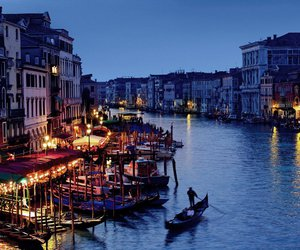 canal, europe, and italy image