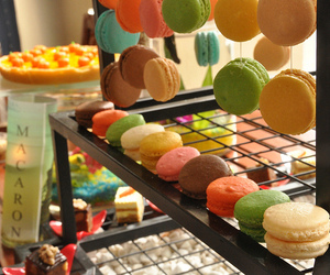 macaron, yummy, and delicious image