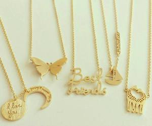 necklace, fashion, and love image