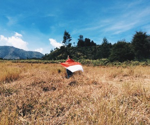flag, Hot, and indonesia image