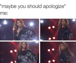 beyoncé, funny, and lol image