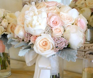 roses, wedding, and beautiful image