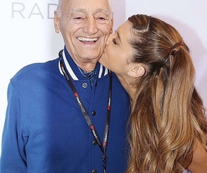 grandfather, ariana grande, and love image