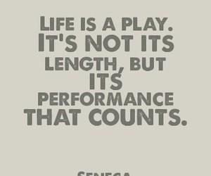 life, quote, and seneca image