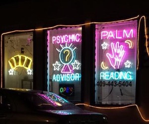 psychic, wicca, and galveston image