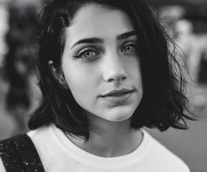 black and white and emily rudd image