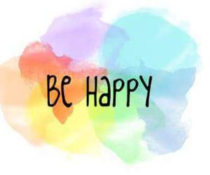 be happy colores image