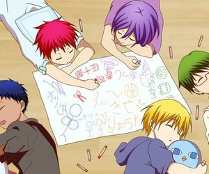 generation of miracles and daiki aomine image