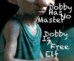 harry potter, quotes, and dobby image