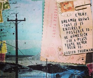 dreamer, travel, and quote image