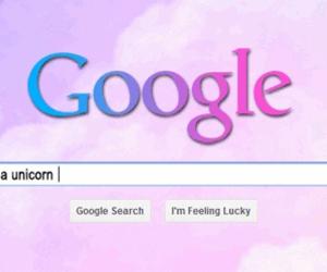 unicorn, google, and pink image