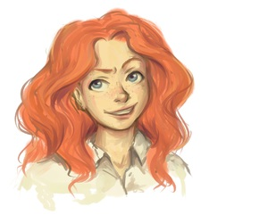 drawing, harry potter, and rose weasley image