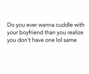 boyfriend, funny, and cuddle image