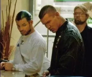 randy orton and jeff hardy image
