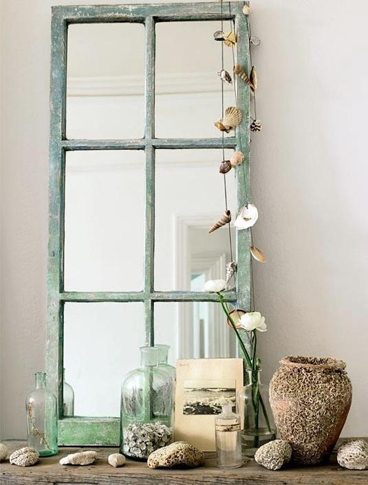 Furniture Budget Window Pane Mirror With Green Color Mirror With Rustic Themed Style Design Window Pane Mirrors Decorative Mirrors With Framed Mirrors Large Wall Mirrors