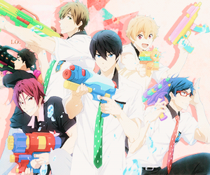 free!, anime, and free image