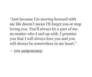 forever, forget, and move on image