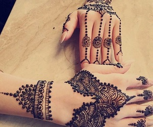 henna, pretty, and style image