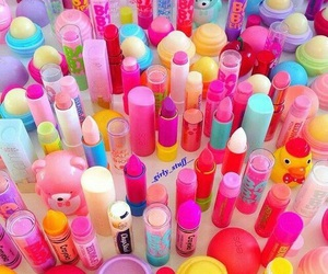 eos, makeup, and lipstick image