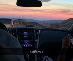 california, life, and summer image