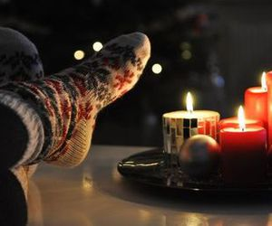 candles and socks image