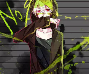 anime boy, konoha, and mekaku city actors image